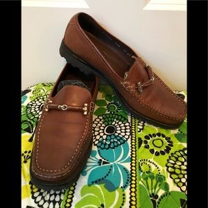 Leather Cole Haan shoes with rubber soles